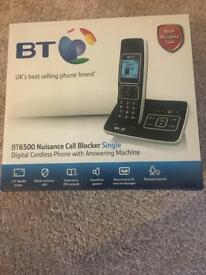 BT6500 digital cordless telephone with answer machine