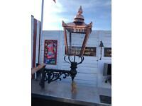 Large victorian copper lantern