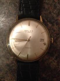 1960's vintage Selza watch