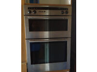 integrated NEFF double oven/ grill