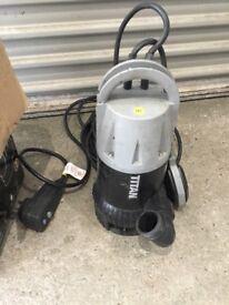 Titan submersible pump