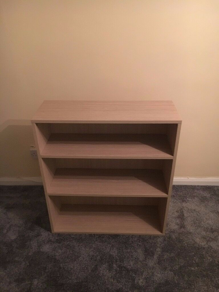 Pine book shelving unit