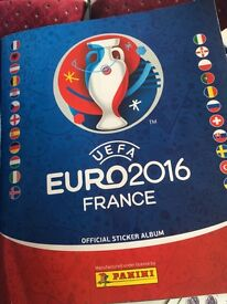 Euro 2016 Panini stickers swaps needed!