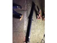 E39 520i 2001 propshaft