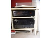 Stereo Unit also Pioneer Stereo Turntable