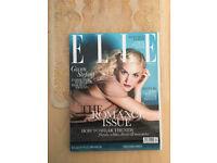 Three Near Mint Elle Magazines: August 2010, April 2011, September 2011.