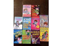 Horrid Henry Children's books x10 books. £7. Manchester, Didsbury. Kids love it!