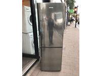 SAMSUNG Stainless Steel Very Nice Fridge Freezer (Fully Working & 3 Month Warranty)