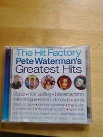 Pete Waterman double CDs. 50p