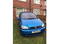 Vauxhall Zafira gsi Arden blue