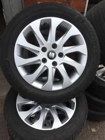 Ibiza alloy wheel