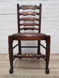 Ladder Back Chair (DELIVERY AVAILABLE FOR THIS ITEM OF FURNITURE)