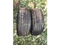 Landsail tyres 225/45/18 5mm tread