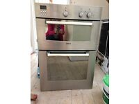 Bosch kitchen appliances - double oven, dishwasher and fridge
