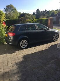 Audi A3 SPORT ...2.0L TDi Metallic Graphite Grey 138bhp ( 5 door ) 58- REG