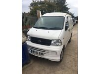 DAIHATSU EXTOL 1.3 PETROL VAN 2006 BREAKING FOR SPARES AND REPAIRS
