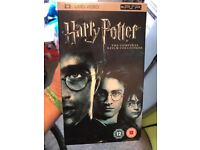 Harry Potter ~ The Complete Collection 8 Film Boxset ~ UMD.VIDEO PSP