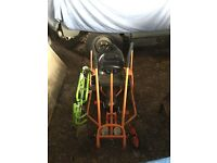 TRAX THUNDER II PEDAL CART