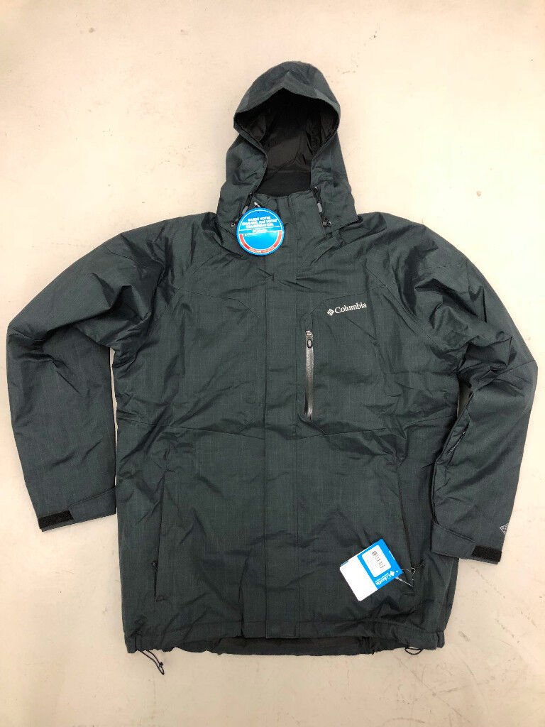 470155b810 NEW  Columbia Men s Alpine Action Insulated Hooded Ski Jacket (Large    Black)