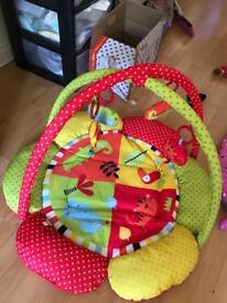 Red kite jungle play mat