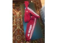 Infant Adidas tracksuits 3-4 years & Adidas trainers size 8