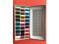 Box of no. 2 Janome embroidery threads