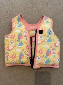 Girls swim vest / life jacket