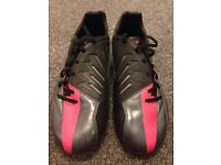 Football boots, used once, like new Astro turf boots Nike T90 size 8, would make a great gift