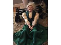 Ultra rare William L Wallace Specialty doll old nana so unreal must veiw if you love dolls