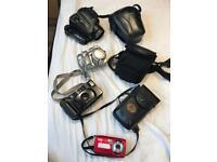 Joblot of cameras