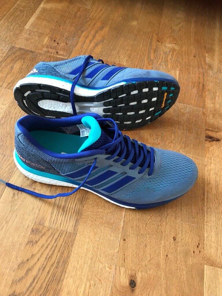 Adidas Adizero Boston 7 (size 9.5 UK) running shoes. Hackney 48b5e0d30