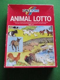 Vintage Galt Toys Animal Lotto