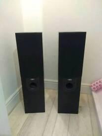Eltax Silverstone 200W free standing speakers