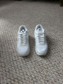 NIKE AIR MAX - white, UK 4.5 - great conditions