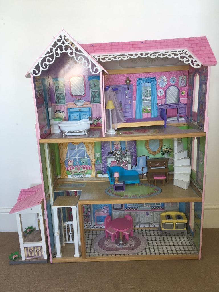 Kidkraft Large Dolls House Furniture In Beckenham London Gumtree