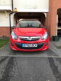 Vauxhall Corsa limited edition 1.2. Black 17inch alloys. Very good condition lovely car.