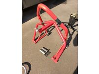 Motorcycle front/rear paddock stand