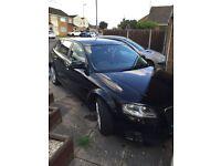 Audi A3 black 1.9tdi sport back