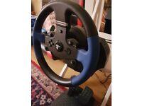 Brand New!! Thrustmaster PS4 Steering Wheel