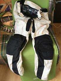 Men's summer motorcycle pants 2XL