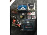 Retro games console bundle, nes, GameCube, n64, gameboy advance, mega drive 2,