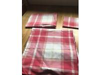 Laura Ashley double bed quilt cover and matching pillowcases(bedding, bed spread)