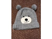 Ladies hat with bear face