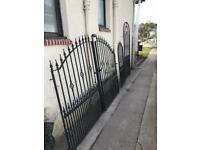 Matching Wrought iron gates x3