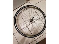 Carrera tdf front wheel. For road bike. True