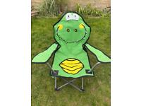 Child's camping chair