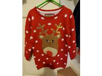 Christmas jumper 4-5 worn once