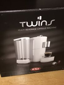 Coffee Machines - Caffitaly and Twins (like new, Boxed)