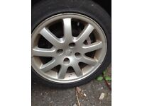 "Peugeot 16"" gti alloys for sale £100"