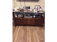 Immaculate mahogany display cabinet